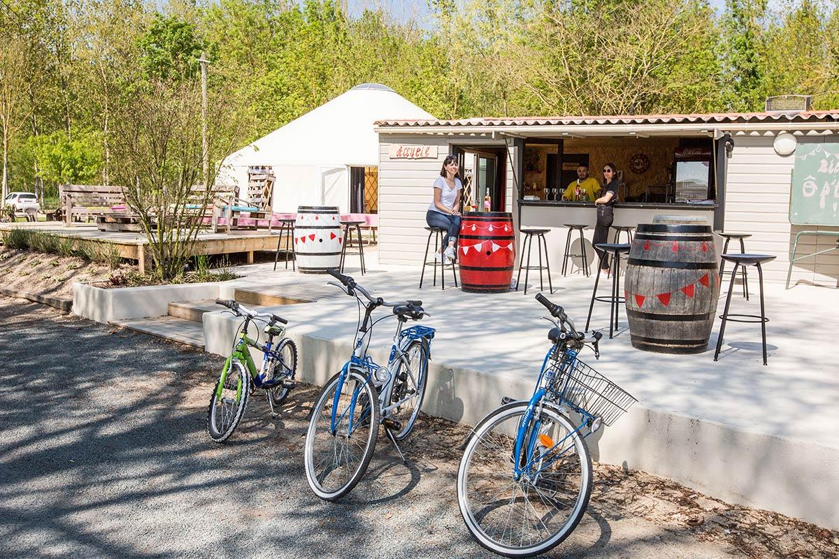 vélos du camping Marais Poitevin