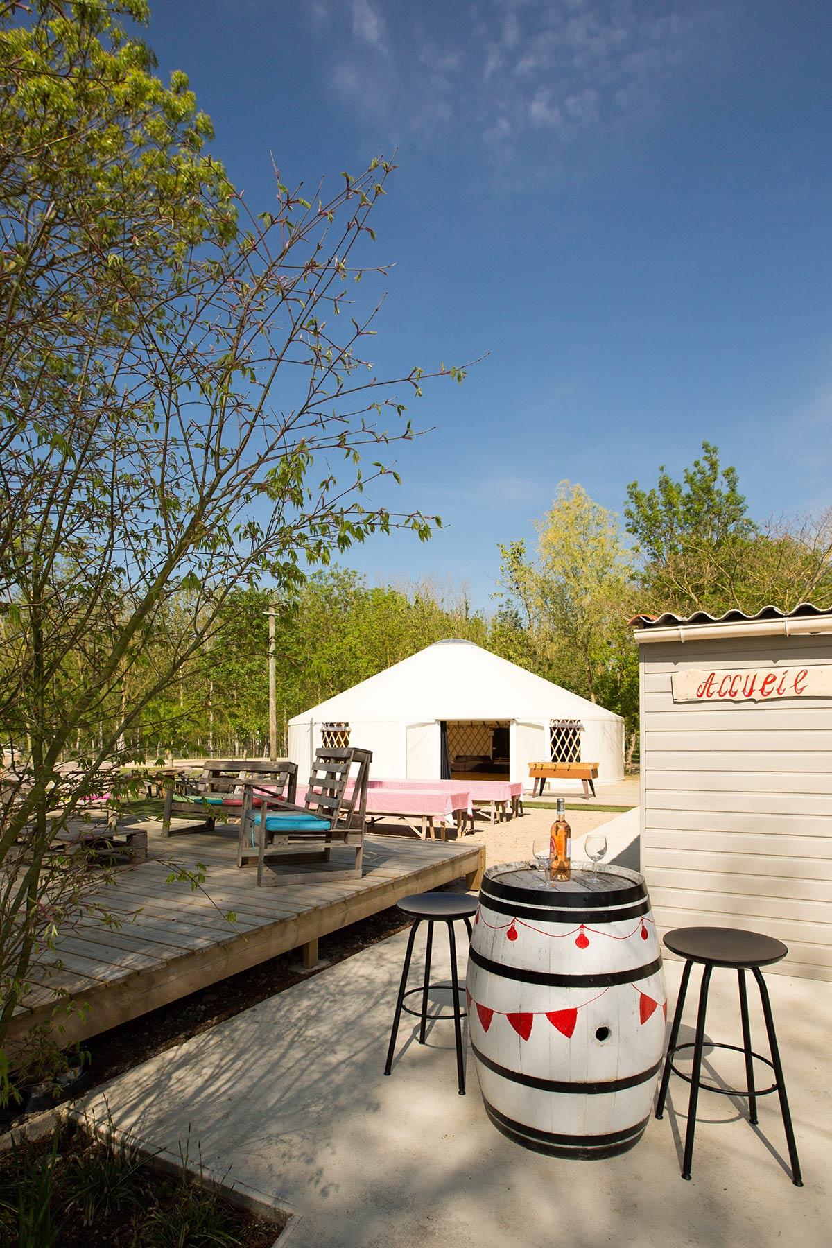 snack-bar du camping Marais Poitevin