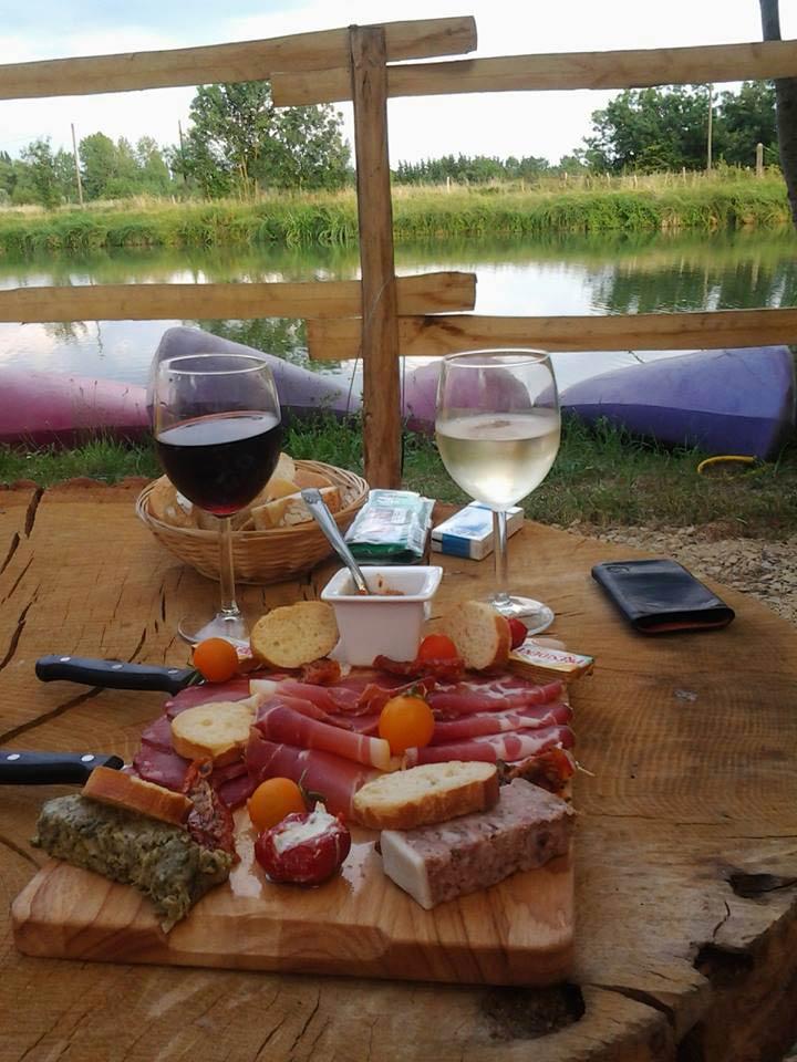 apéritif du camping Marais Poitevin