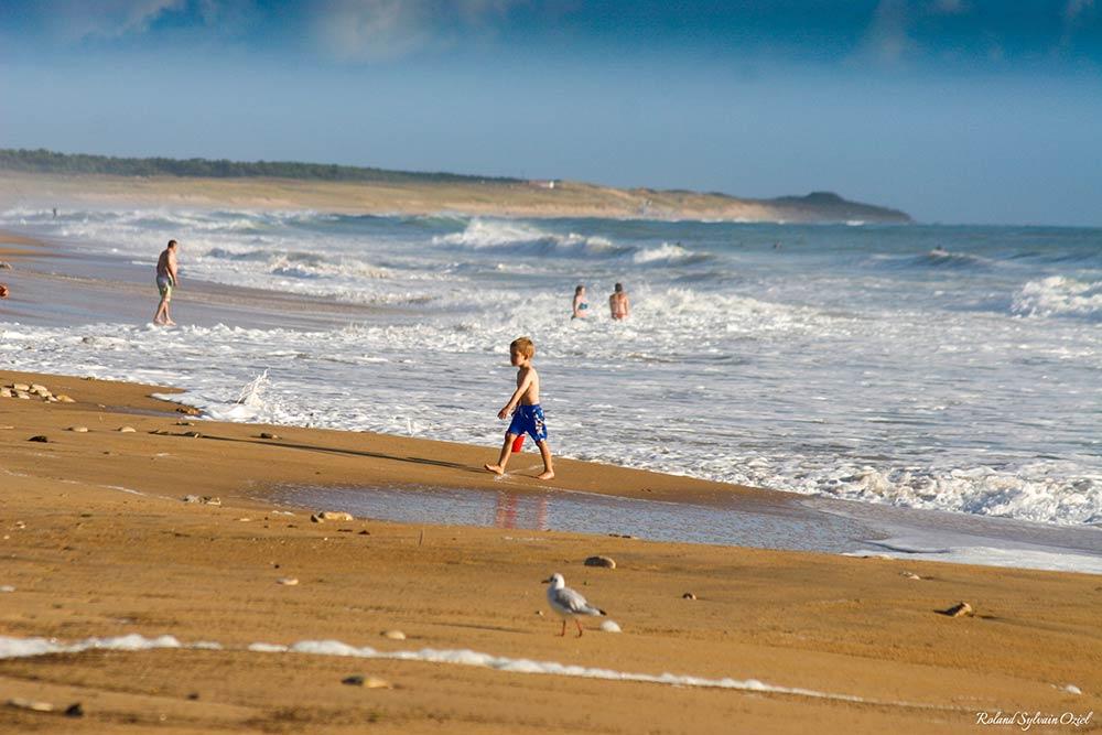 plages du sud Vendée la tranche