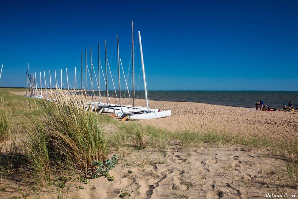 camping proche plages du sud Vendée la faute