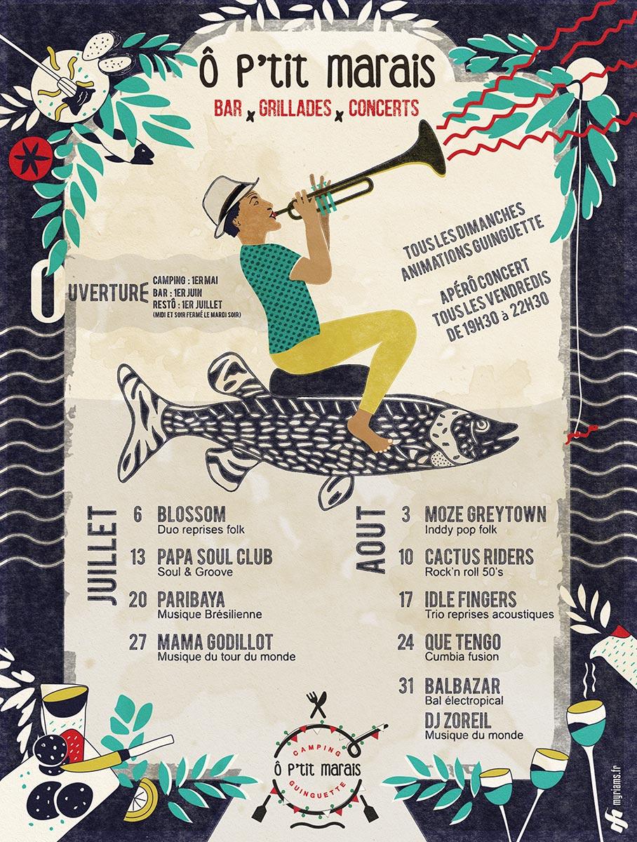 Programme guinguette optitmarais 2018